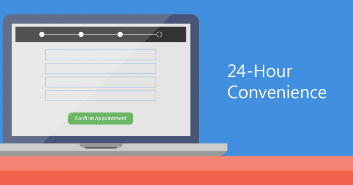 hibu Appointments - 24-hour convenience