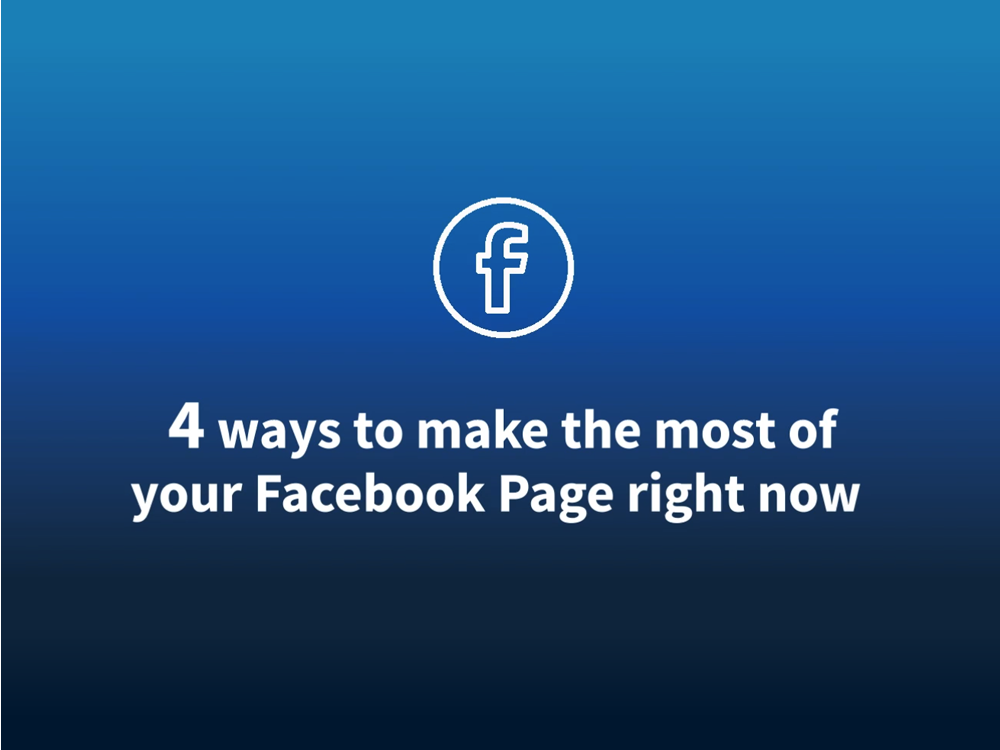Video: How to make the most of your Facebook Page