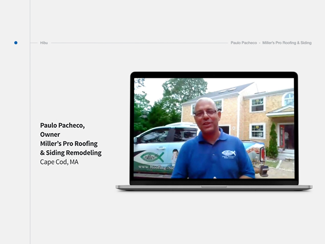 Hibu Client Conversation – Miller's Pro Roofing & Siding with Paulo Pacheco