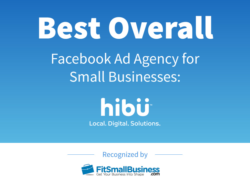 Hibu Named Best Overall Facebook Ad Agency for Small Businesses