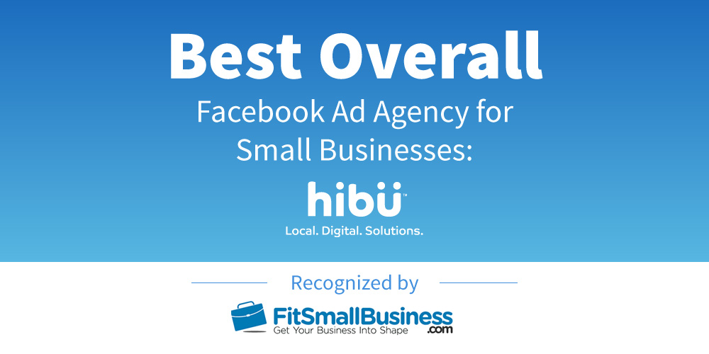 Hibu Named Best Overall Facebook Ad Agency