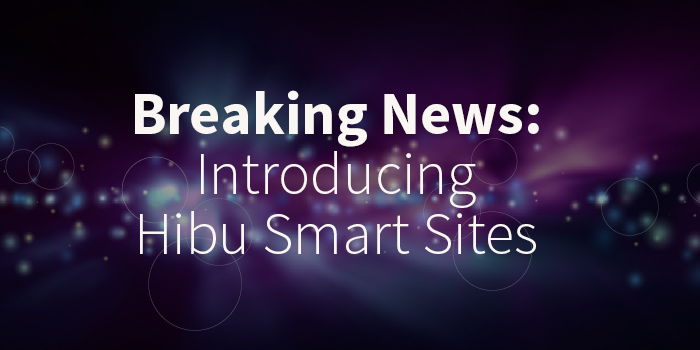 "Breaking News: Hibu Introduces ""Hibu Smart Sites"""