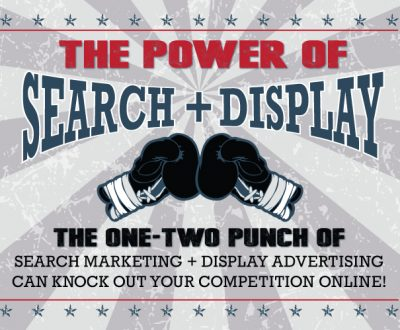 The Power of Search Marketing + Display Advertising