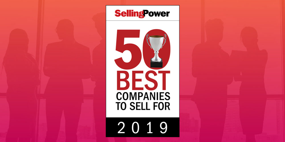 "Hibu is on Selling Power's 2019 ""50 Best Companies to Sell For"" list!"