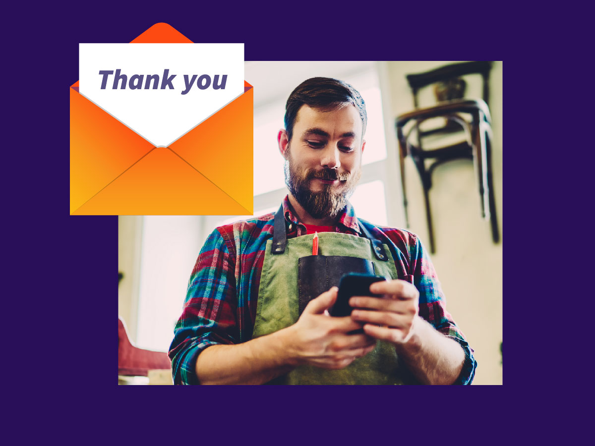 The best ways to genuinely thank your customers (with examples)