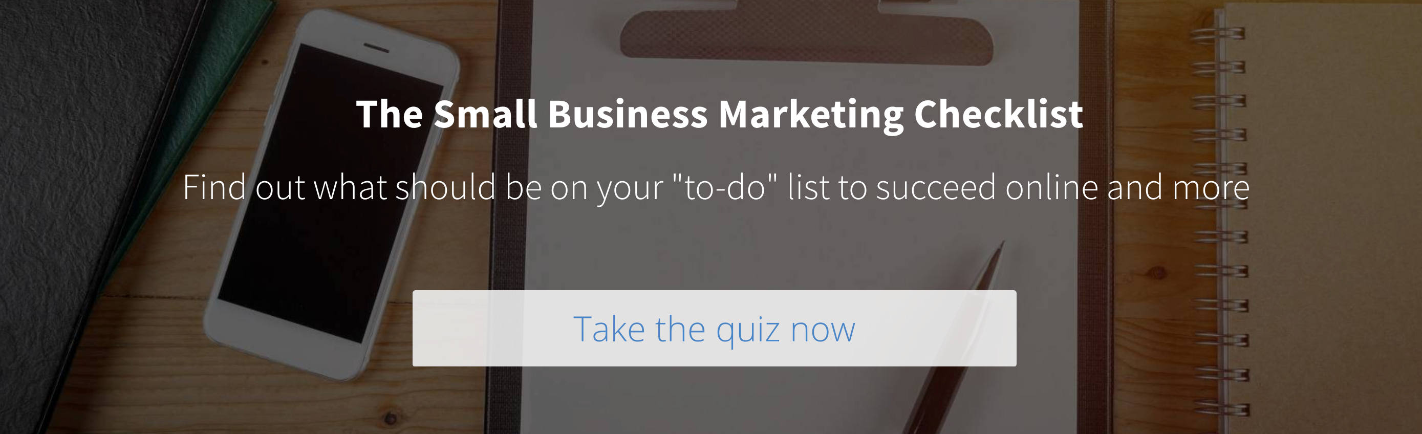 Hibu Small Business Marketing Checklist - Take the Quiz Now