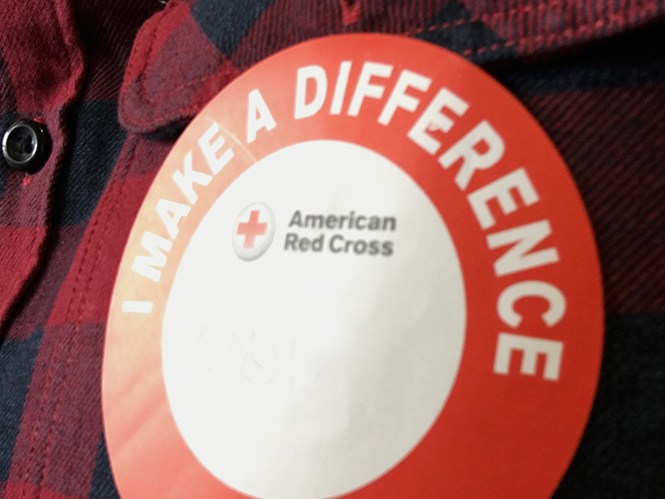 hibu hosts American red cross blood drive