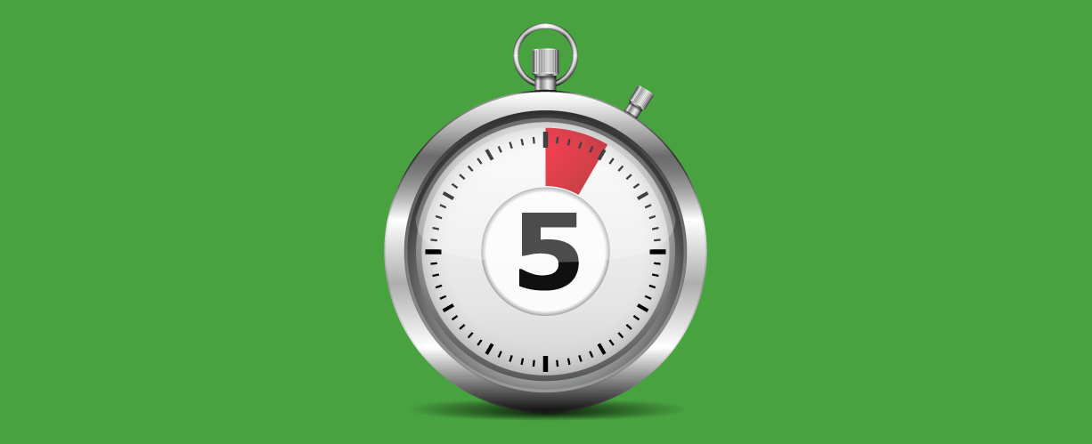 5 seconds to check your mobile website design
