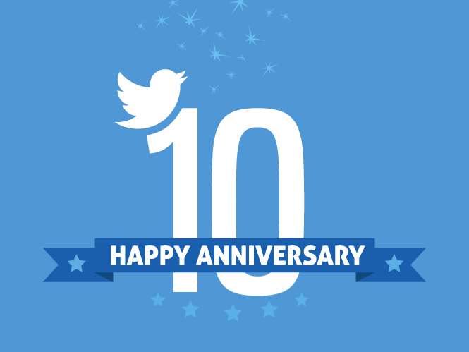 10 Reasons to Celebrate Twitter's 10th Birthday
