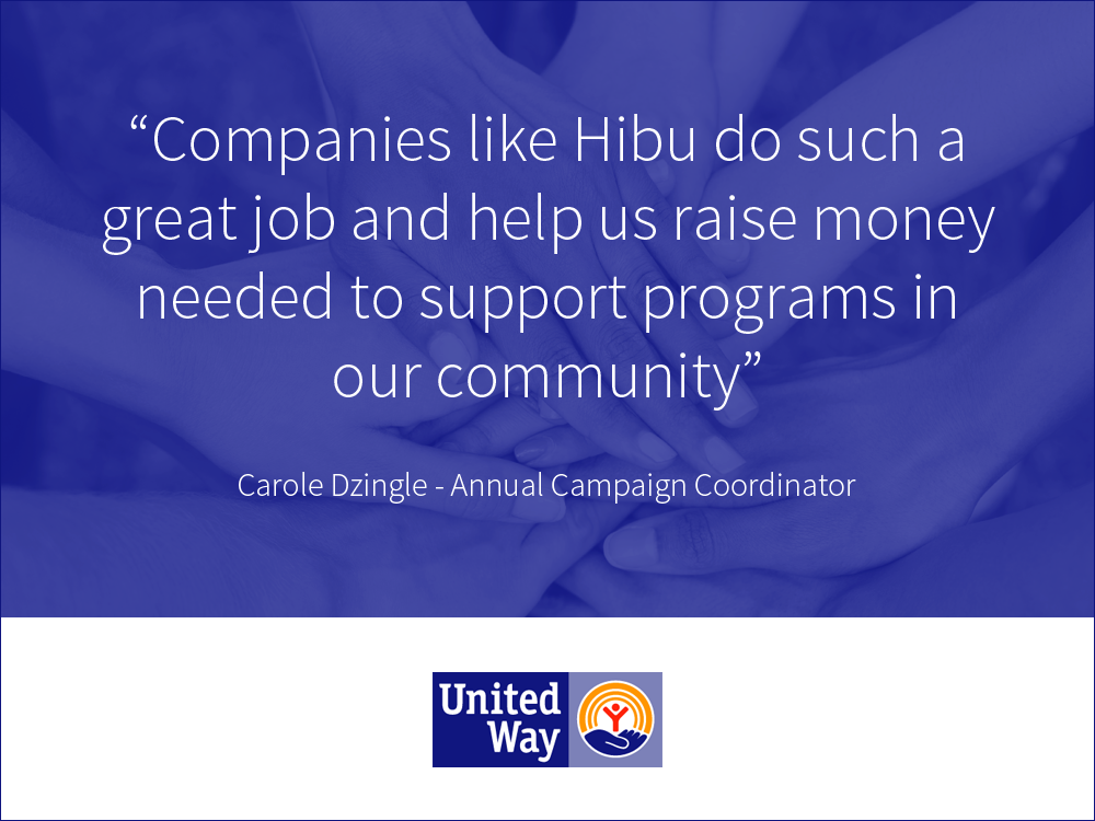 Hibu - United Way Press Release