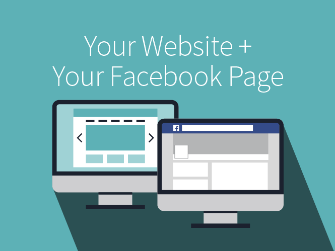 Your Website + Your Facebook Page